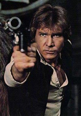 Han Solo en el concurso Star Wars