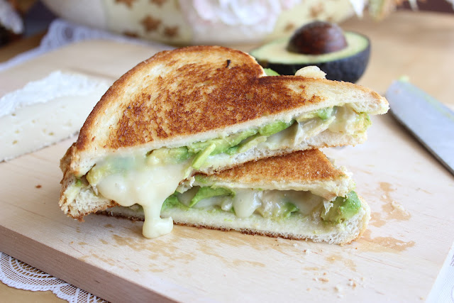 avocado and brie need i say more the avocado is quite subtle in taste ...
