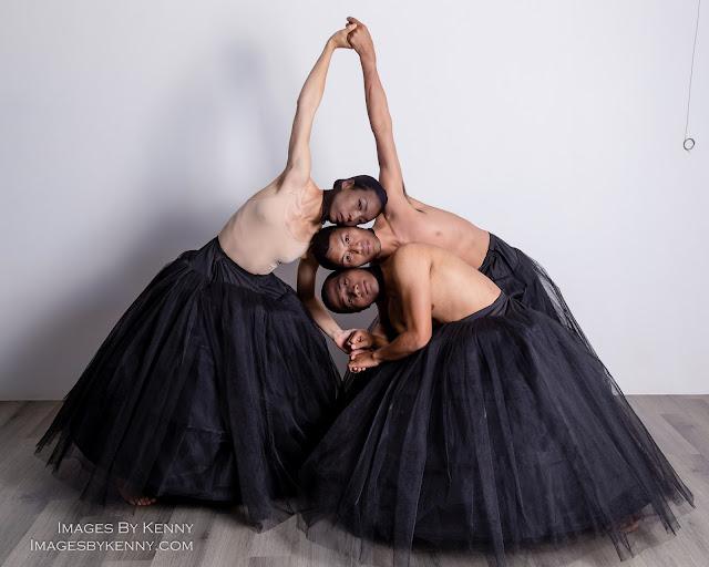 Dancers at Aboriginal Fashion Show
