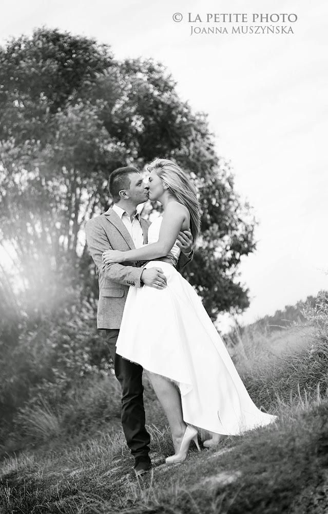 Sesja ślubna - wspomnienie lata.