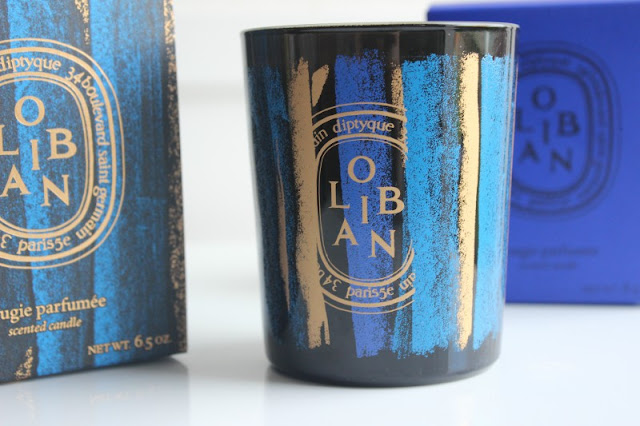 Diptyque Oliban Holiday Candle 2015