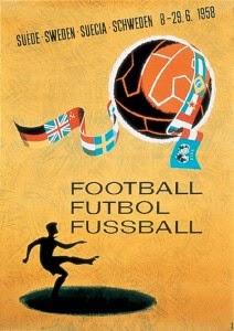 Finale de la coupe du Monde de Football 1958 Suède