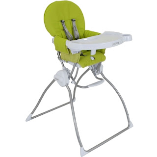 Fabric high chair