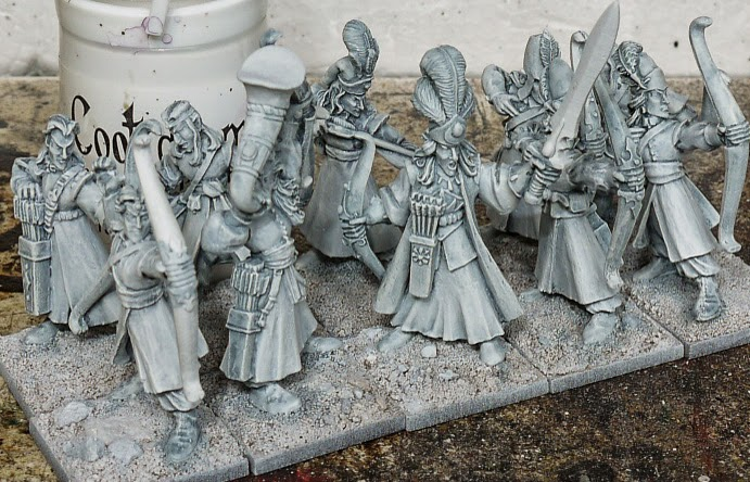 Hobby Horse: How To Paint White Robes