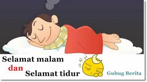 kata ucapan selamat malam facebook