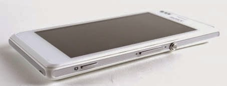 Sony Xperia M Review - Tombol Fisik