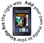 kindle fire media