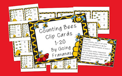 https://www.teacherspayteachers.com/Product/Counting-Bees-to-20-Clip-Cards-2359946?aref=8y6zrehq