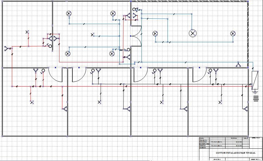 Mataram electric perencanaan dan pemasangan instalasi listrik berikut contoh gambar tata letak dan instalasi peralatan listrik ccuart Choice Image