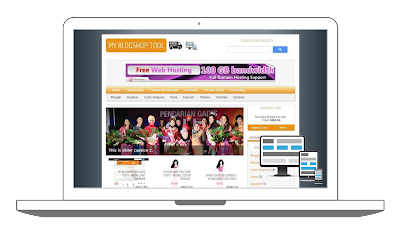 Download Responsive Blogger Shoppinc Cart Theme