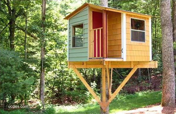 Arquitectura de casas una casa del rbol para ni os - Casas en el arbol ...