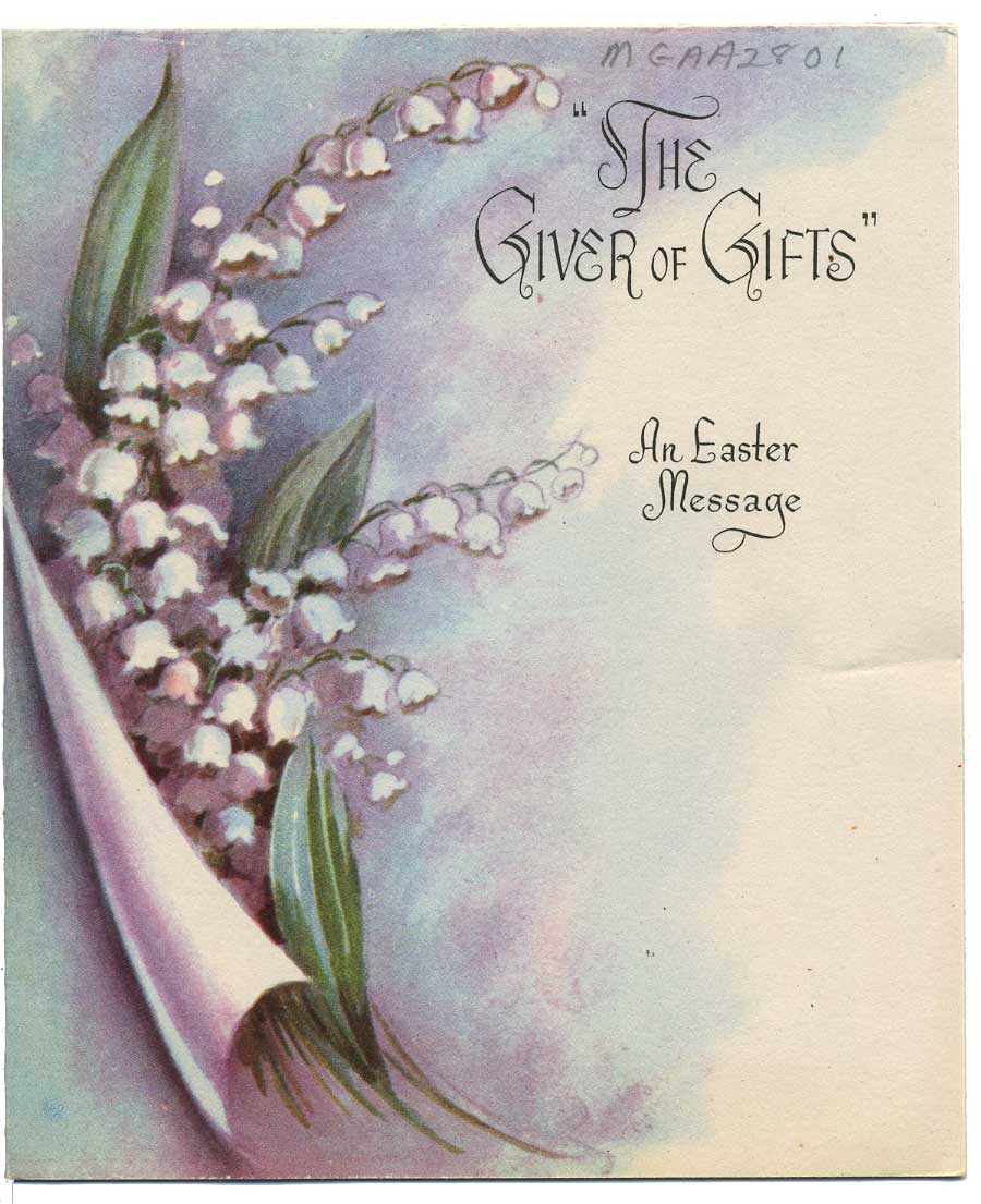 The Archivists Pencil Record Of The Week Happy Easter Cards