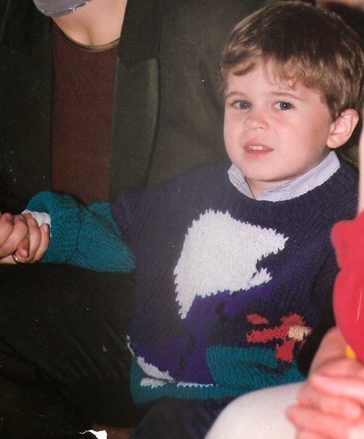 sweterek dziecięcy ze Smerfem