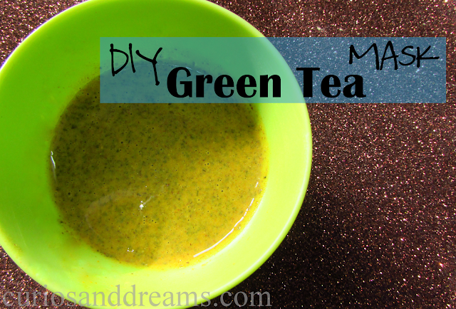 DIY Green Tea Face Mask