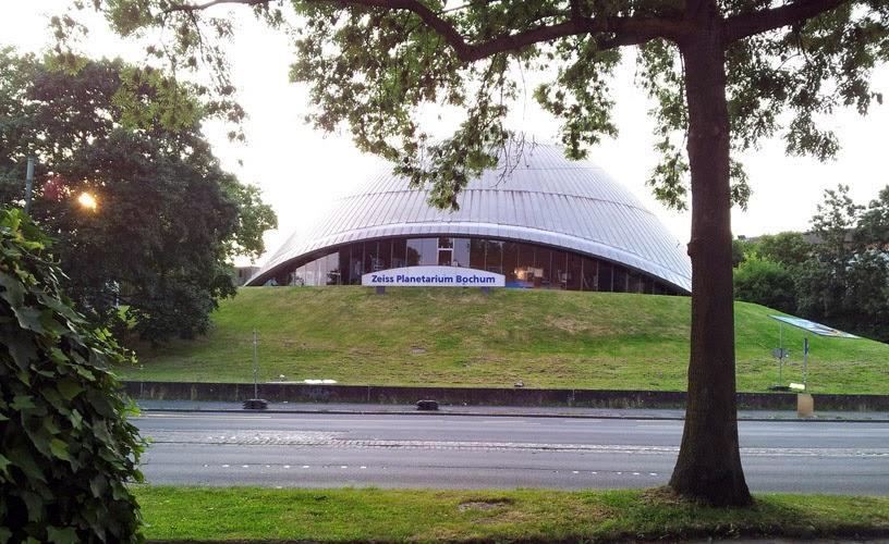 Le planétarium de Bochum / photo S. Mazars