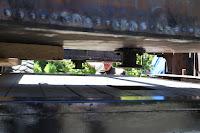 Remachined bottom valve installed on bottom of new tank.