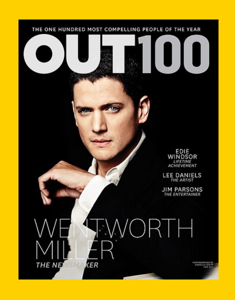 Wentworth Miller by Danielle Levitt for OUT Magazine