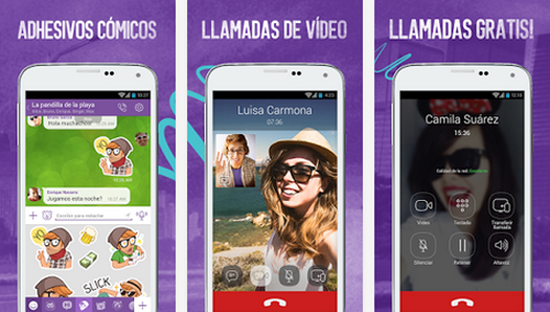 Llamadas en video gratis con Viber