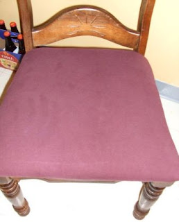 Membuat Cover kursi - Warna Polos Sederhana
