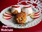 Almás muffin fahéjas öntettel, nagyjából 45 perc alatt elkészíthető, 12 darabos könnyed, finom sütemény.