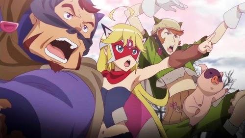 """""""só mais um anime 'engraçadinho' desta temporada, com muito potencial, mas sem grande profundidade"""""""