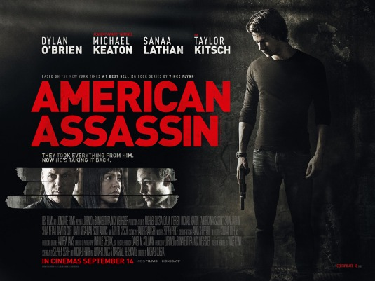 Official movie poster american assassin