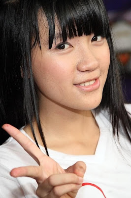 Cindy foto premium content JKT48 clock