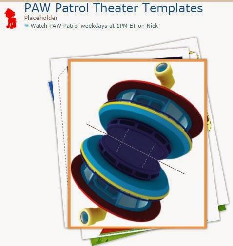 Paw Patrol o Patrulla Canina: Teatro para Imprimir Gratis.