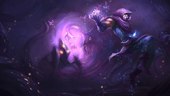malzahar league of legends hd wallpaper lol champion splash