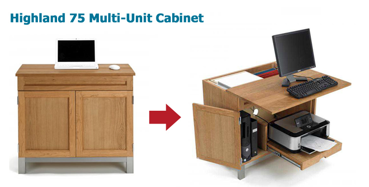 Compact Multi Functional Unit For Your Home Or Office