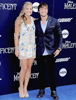 Wesley Stromberg and Carly Miner