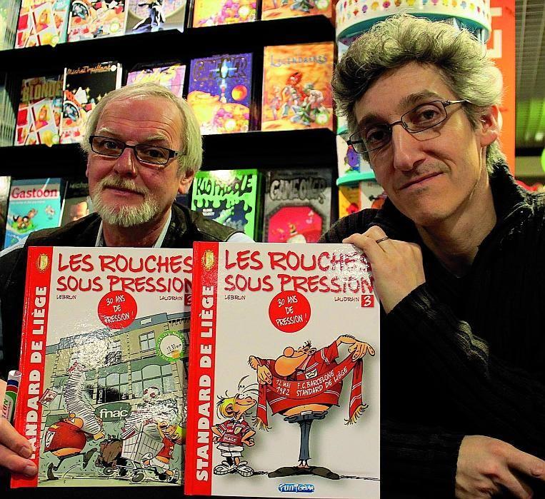 André Lebrun et Thierry Laudrain