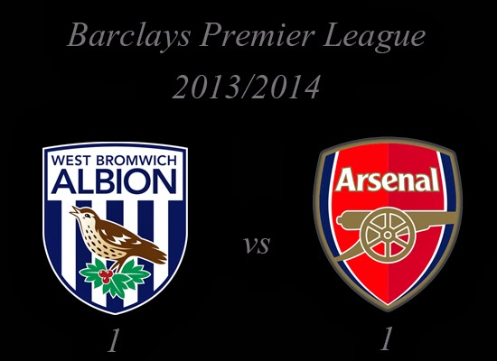 WBA v Arsenal Barclays Premier League 2013