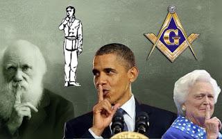 Evolution is a Lie - Intelligent Design is the Truth! Freemason-shh