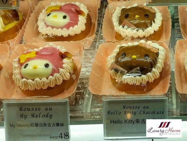 hong kong sanrio my melody hello kitty desserts