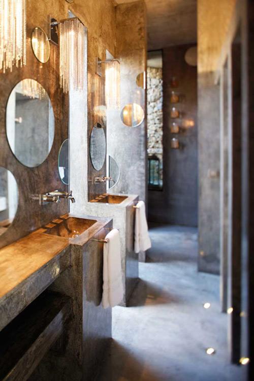 Boiserie c bagni in cemento - Bagno 37 silvana bellaria ...