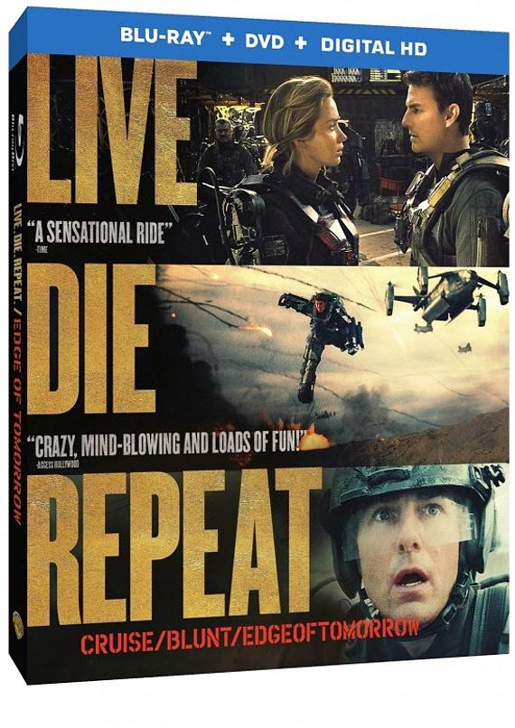 MOVIES: Edge of Tomorrow - Changes Title for DVD Release