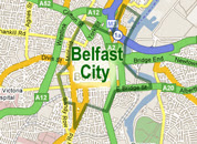 Belfast County Map Area