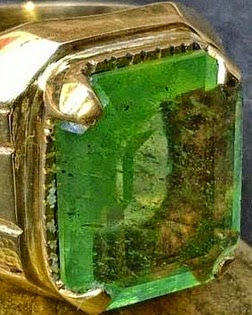 gambar cincin zamrud asli kalimantan