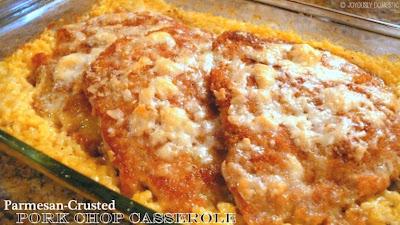 Parmesan-Crusted Pork Chop Casserole