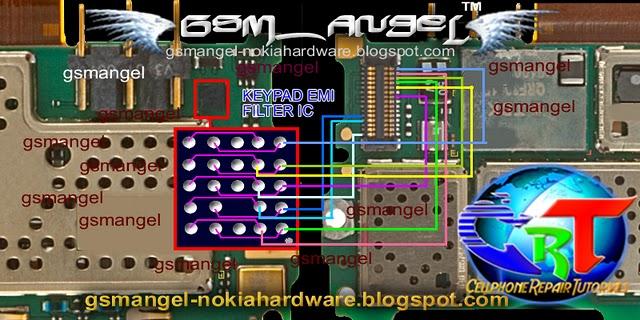 nokia c3 keypad solution