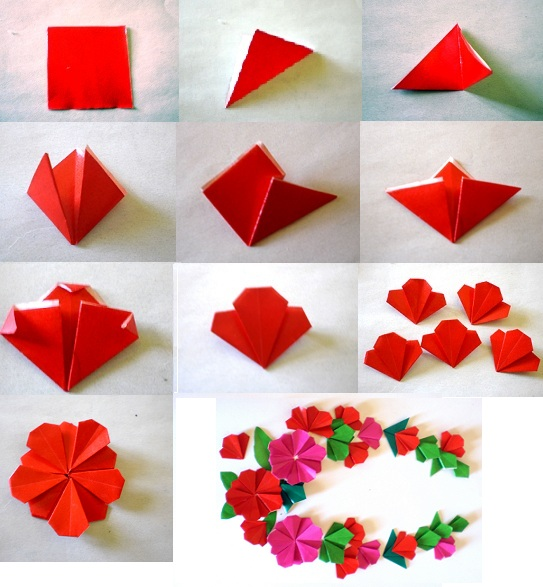 How to make a tissue paper flower very easily.