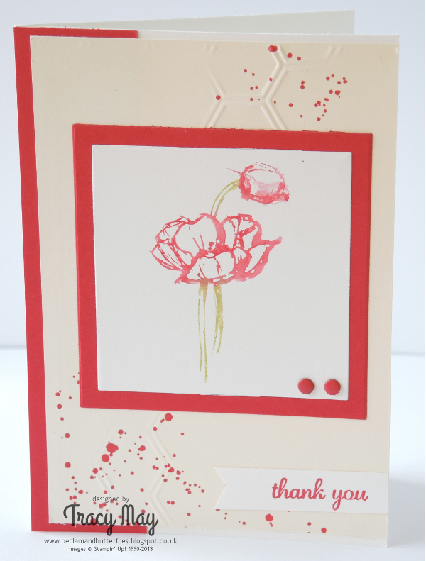 Stampin Up demonstrator Hostess Simply Sketched Tracy May