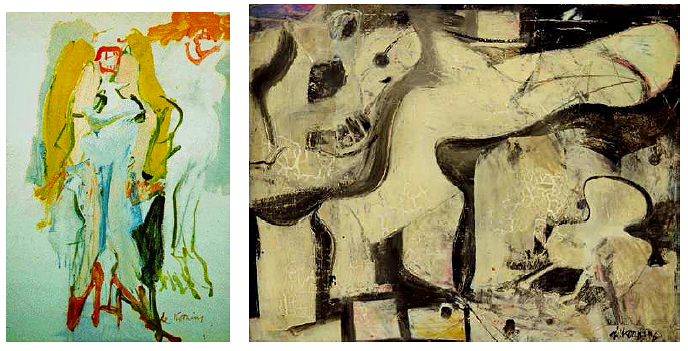 abstract expressionisme willem de kooning
