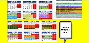 TEMPORIZACION 2013-14 CICLO 1