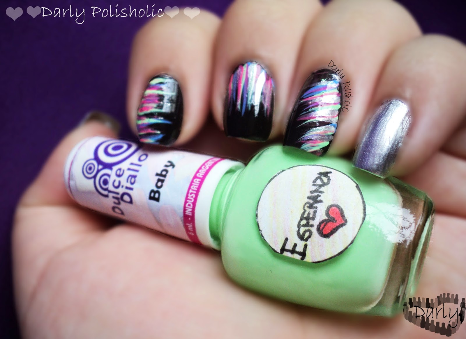 ♥♥♥ Darly Polisholic ♥♥♥: ♥♥ Waterfall nails... post ...
