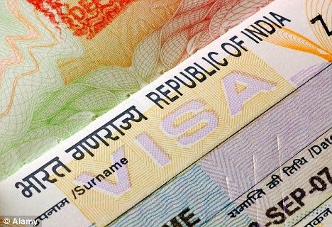 Indian visa appointment date