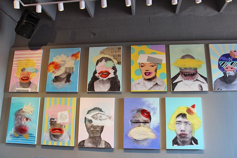 Pop art at MBAB 2014, Art Basel, Miami Beach