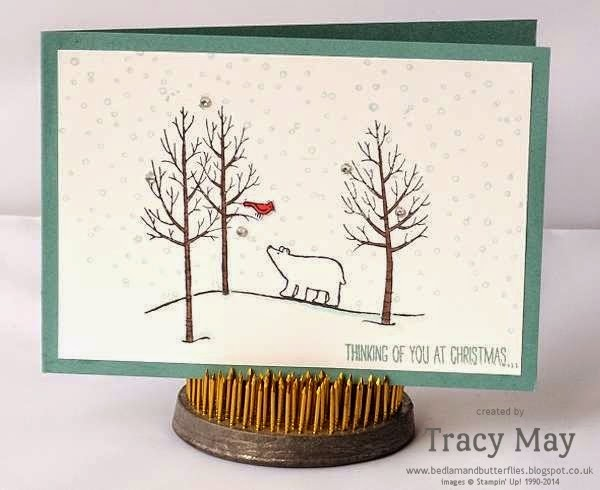 stampin-up-uk-independent-demonstrator-Tracy-May-white-christmas-card-making-ideas