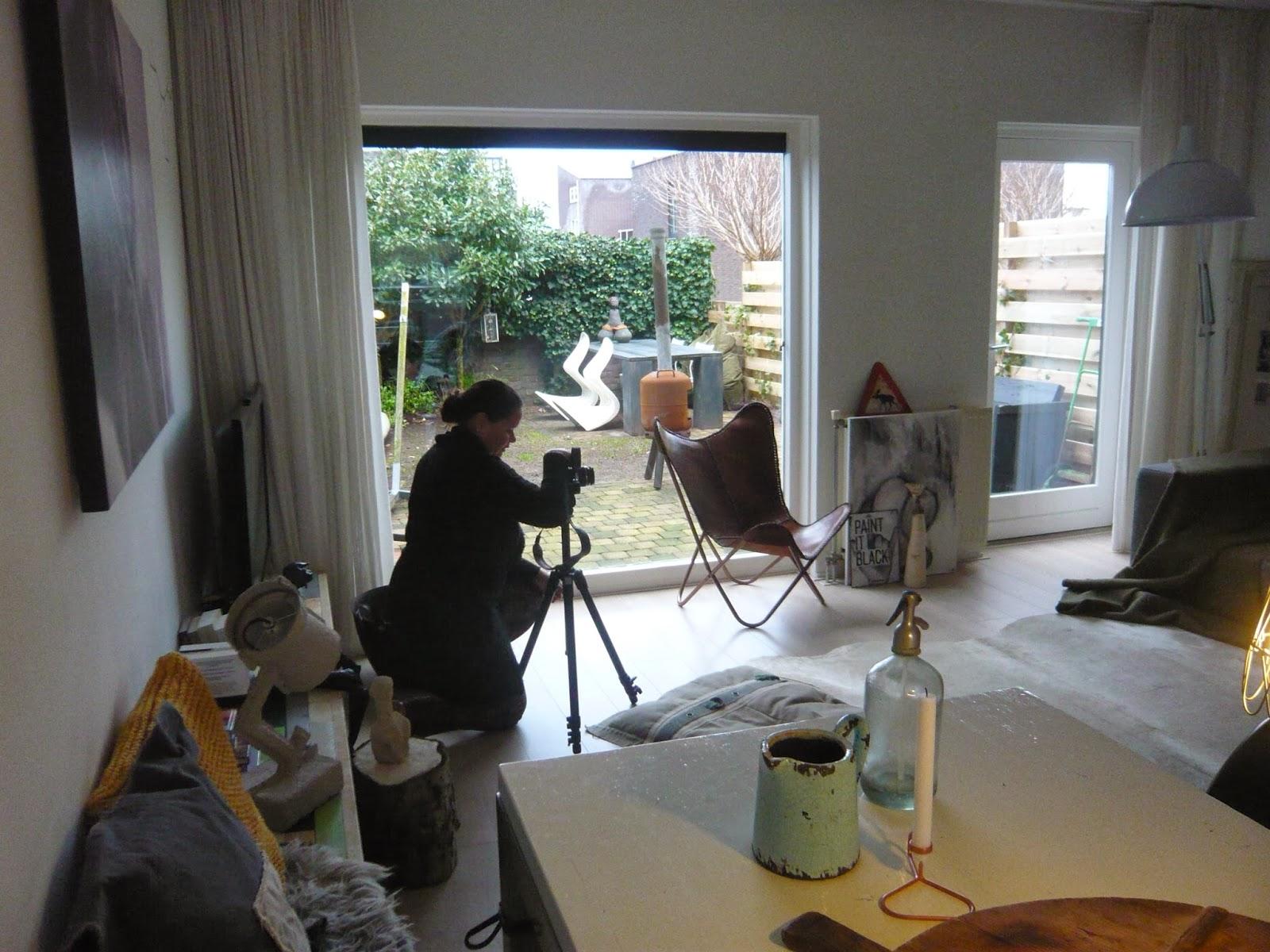 Binnenkijken Marieke Rusticus : Marieke rusticus styling fotoshoot in my home